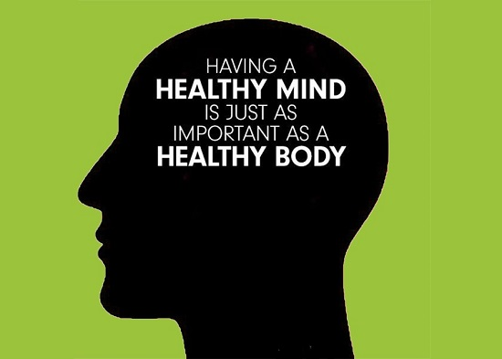 Importance Of Healthy Body & Mind For Students Concept.