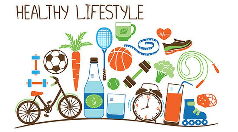 An Image Showcasing The Concept Of Healthy Lifestyle For Students.